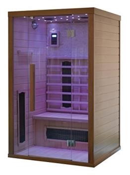 Infrarotkabine Wärmekabine Infrarotsauna Sauna Wärmetherapie Infrarot Steinwand - 1