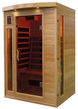 Infrarotkabine / Wärmekabine / Sauna - ECK ! für 2 Personen SONDERAKTION - 1