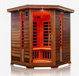 Infrarotkabine / Wärmekabine / Sauna - ECK ! für 4 Personen SONDERAKTION - 1
