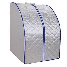 MountainNet 220V Infrarot Sauna Faltbare Wärmekabine Ferninfrarot Gewicht Verlieren Platzsparend Sauna - 1